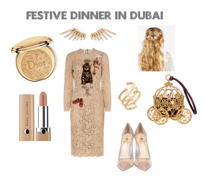 FESTIVE DINNER DUBAI FASHION NEWS