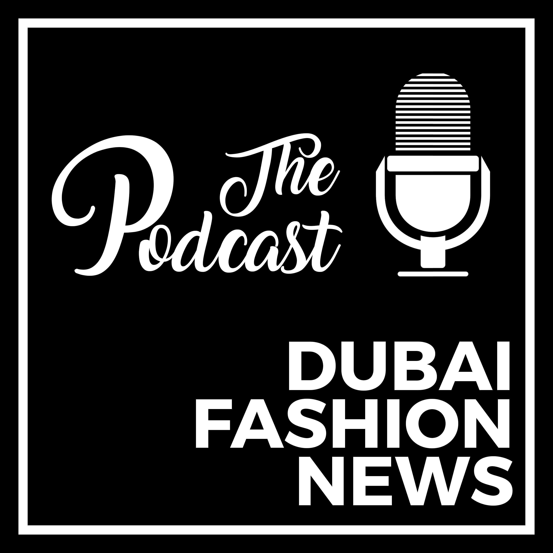 Logo podcast Dubai Fashion News podcast