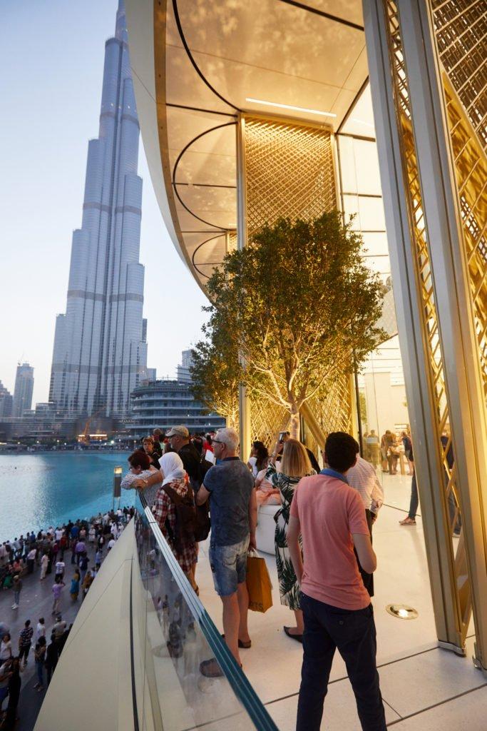 new Apple store at the Dubai Mall Dubai fashion news