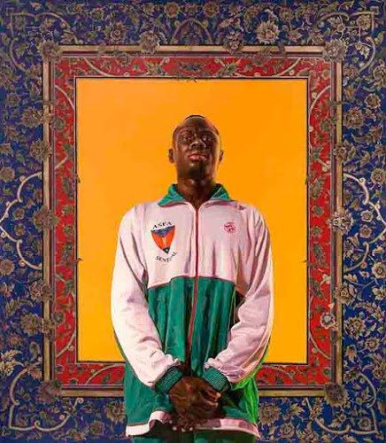 Kehinde Wiley at Templon Gallery in Art Dubai 2018